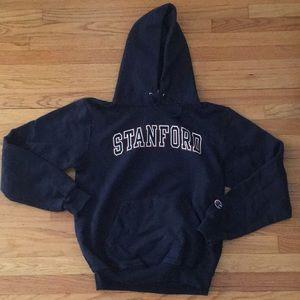 Navy Stanford Hoodie Sweatshirt, perfect condition